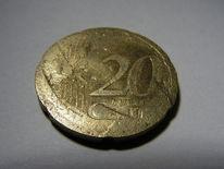 20er, 20 euro cent, Falsch, Fotografie