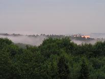 Schwaden, Tal, Nebel, Fotografie