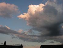 Wolken, Zusammen, Braue, Fotografie