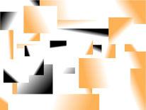 Zeitgeist, Orange, Farben, Schwarz weiß