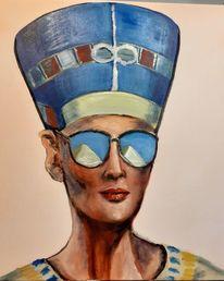 Nofretete, Schönheit, Ägypten, Portrait