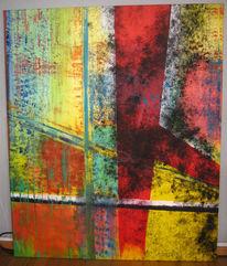 Ölmalerei, Überleben, Mönchengladbach, Kampf