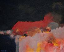 Bart, Abstrakt, Oijen, Malerei