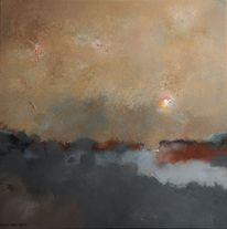 Kalt, Osten, Winter, Malerei