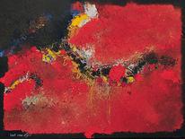 Acrylmalerei, Bart, Oijen, Malerei
