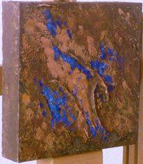 Patina, Acrylmalerei, Rost, Abstrakt