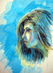 Rose, Contemporary, Missing, Portrait