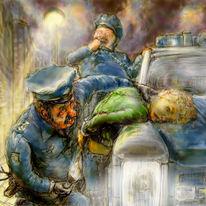 Verbrechen, Big fish, Cops, Streets
