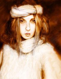 Rose, Portrait, Surreal, Ilmenau