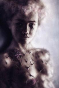 Rose, Dorn, Illustration, Digitale kunst
