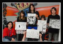 Jugendhaus, Werkstatt, Zeichnen, Kids