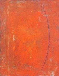 Spannung, Linie, Orange, Malerei
