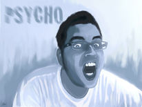 Digital, Digitale kunst, Psycho