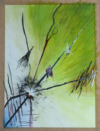 Malerei, Abstrakt, Vierer