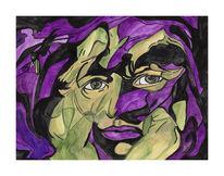 Malerei, Surreal, Zweifel