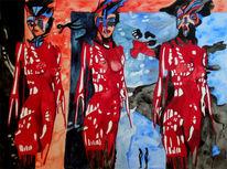 Göttin istar, Malerei, Surreal