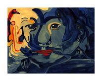 Malerei, Surreal, Leben