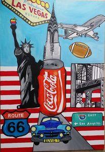 Malerei, Abstrakt, Amerika