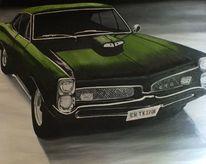 Malerei auto automobil, Ölmalerei, Malerei