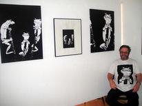 Pinnwand, Ausstellung, Letzten, Tag