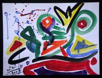 Malerei, Abstrakt, Liebe, Soll