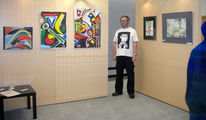 Pinnwand, Ausstellung, Teil