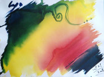 Malerei, Abstrakt, Depression