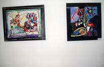 Malerei, Ausstellung