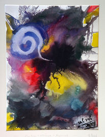Malerei, Abstrakt, Farben