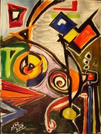 Malerei, Abstrakt, Finden