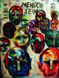 Öl menschen tod, Malerei, Sein