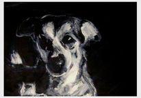 Seele, Hund, Malerei, Tiere
