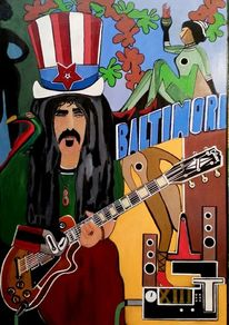 Zappa baltimore, Malerei, Surreal