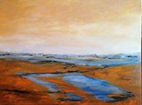 Licht, Wasser, Havel, Malerei