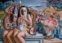 Realismus, Religion, Klosterfrauen, Surreal