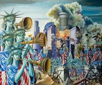 Surreal, Zeitgenössische kunst, Expressionismus, Malerei
