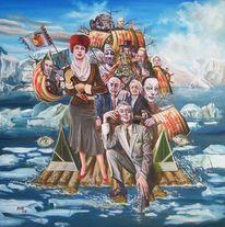 Figurale malerei, Zeitgenössische malerei, Surreaismus, Malerei