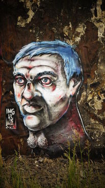 Schöneberg, Berlin, Graffiti, Malerei