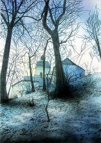 Religion, Abensberg, Baum, Licht der welt
