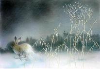 Landschaftsmalerei, Magische landschaften, Tiere, Wildlife art