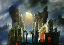 Fantastische malerei, Berühmte maler, Bergmuseum, Triumph of painting