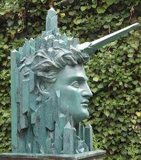 Skulptur, Phantastenmuseum, Phantastensalon, Fantastische kunst