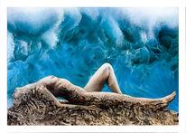 Wasser, Erotik, Felsen, Airbrush