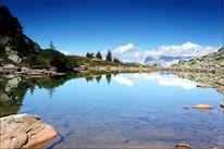 Österreich, Spiegelung, Berge, Steiermark
