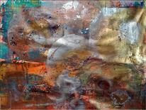 Abstrakt, Acrylmalerei, Malerei, Spachtel