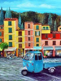 Ape, Fahrzeug, Italien, Geschäft