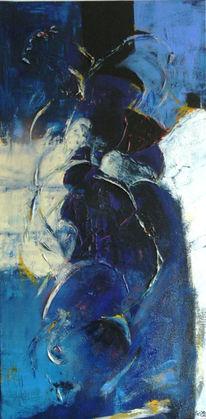 Malerei, Abstrakt, Echo