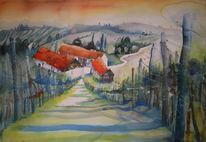 Steiermark, Aquarellmalerei, Aquarell