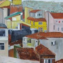 Istanbul, Halic, Haus, Malerei