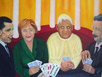 Merkel, Einstein, Obama, Papst